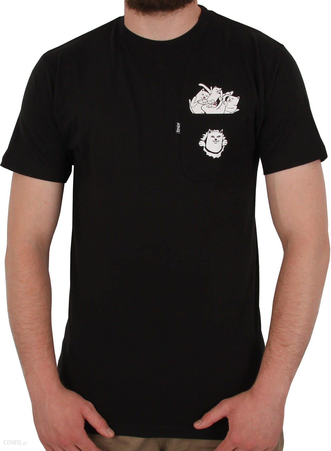 RIPNDIP Stuffed T Shirt Black Ceneo.pl