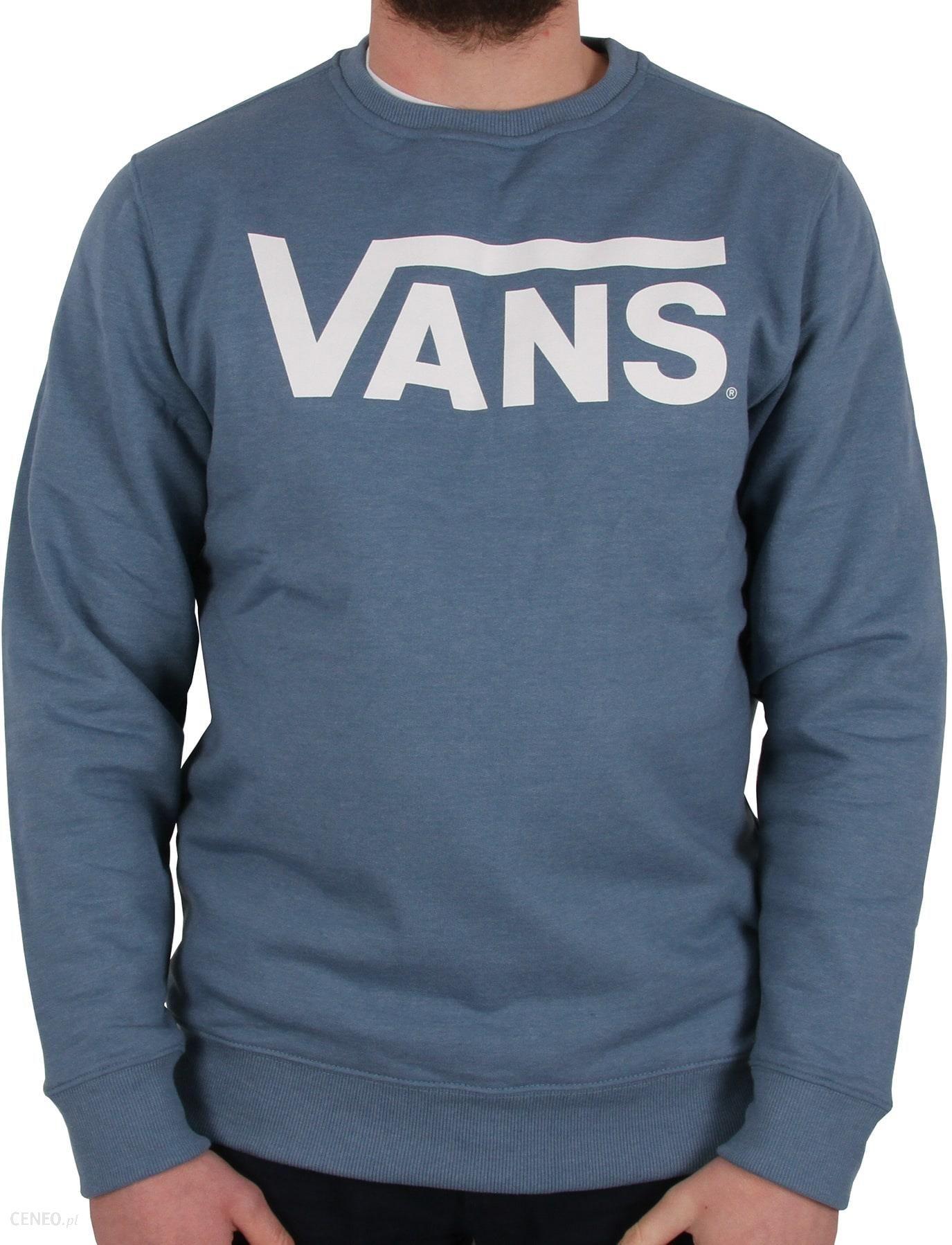 Vans Classic Crew Neck Sweater - Copen Blue Heather White - zdjęcie 1 018451252a