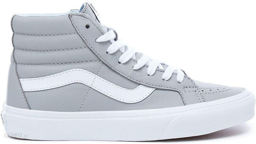 661579e574bac1 Vans SK8-Hi Reissue Skate Shoes - (Leather) Oxford Drizzle - Ceneo.pl