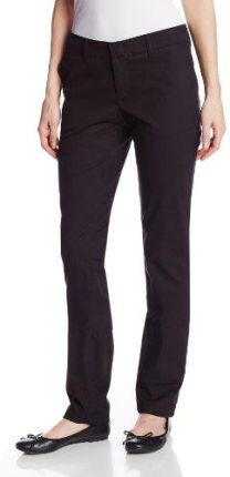 Amazon Dickies – fp212 kobiet Slim Straight Stretch Twill Pants -  10 czarny