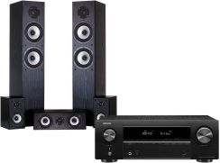 Denon Avr-X550Bt + Wilson Cinematic Czarny