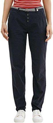 6219001b2c5a18 Amazon edc by Esprit damskie spodnie, kolor: niebieski (Navy 400) , rozmiar