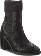 0610aa6252751 Botki TOMMY HILFIGER - Knitted Sock Heeled FW0FW03127 Black 990 eobuwie