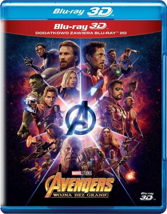 Film 3d Avengers Wojna Bez Granic Blu Ray 3d Blu Ray Ceny I Opinie Ceneo Pl