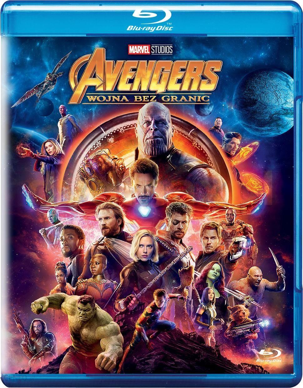 Film Blu Ray Avengers Wojna Bez Granic Blu Ray Ceny I Opinie Ceneo Pl