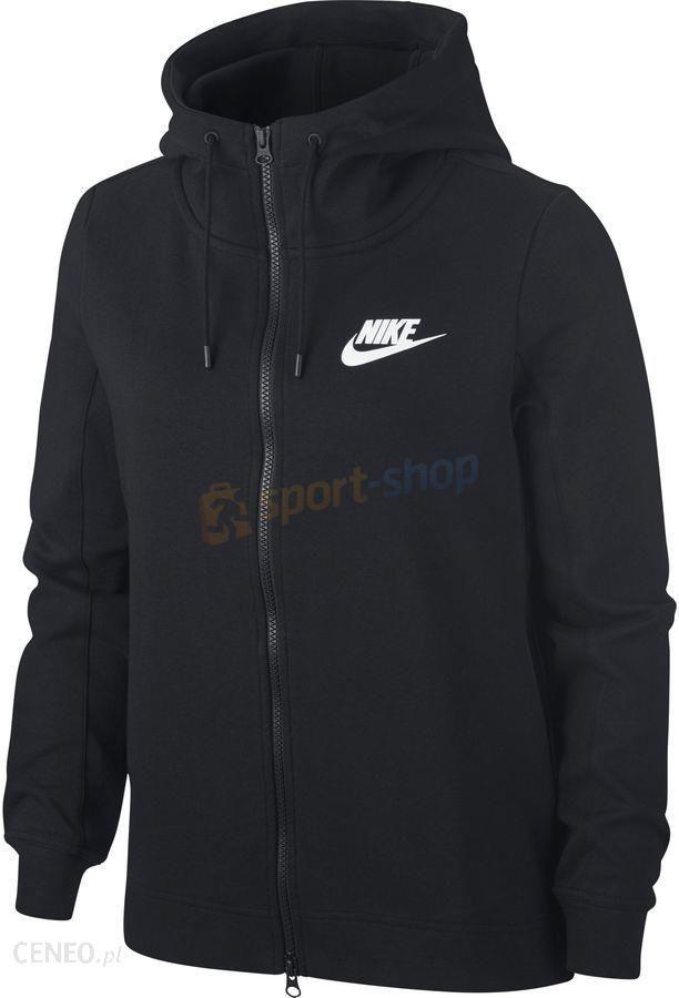 Bluza z kapturem damska Sportswear NSW Gym Classic Nike (czarna)