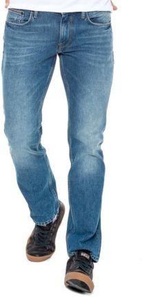 4631c4e2d7c65 Tommy Hilfiger SPODNIE DENTON - VIRDEN BLUE. Jeansy męskie ...