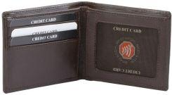 59a25922ecb67 Koruma KUK-93SNBR Najmniejszy portfel na banknoty oraz karty zbliżeniowe  (brąz)