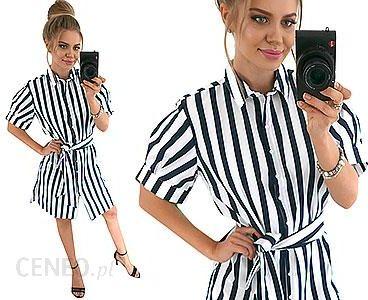 efcc990499 Idealna Sukienka Paski Guziki Pasek Lato S m R035 - Ceny i opinie ...