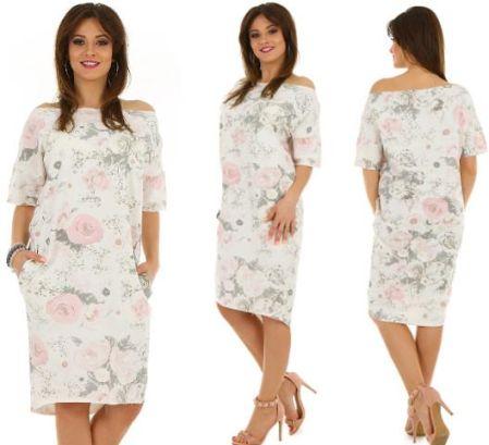 36dfeb511c F234 Lniana włoska Rozkloszowana sukienka - Ceny i opinie - Ceneo.pl