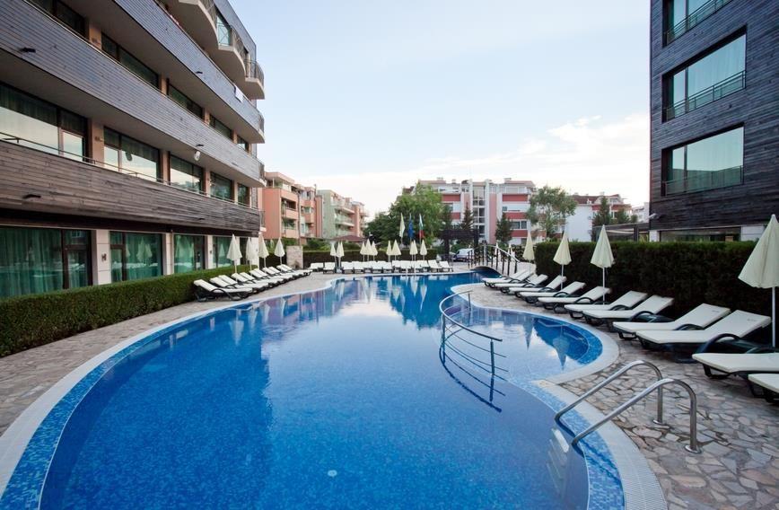 Hotel Lion Sunny Beach Wczasy Bułgaria Riwiera Bułgarska Słoneczny
