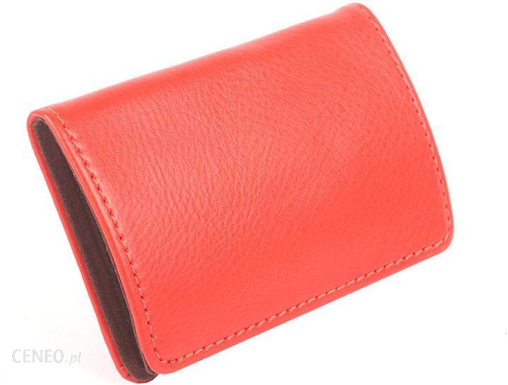 f94c6e4f79ed0 Etui na wizytówki, karty Vera Pelle czerwone Bigueko - Czerwony - zdjęcie 1