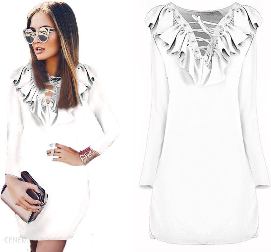 30330d49 Awanti elegancka ołówkowa Sukienka falbana