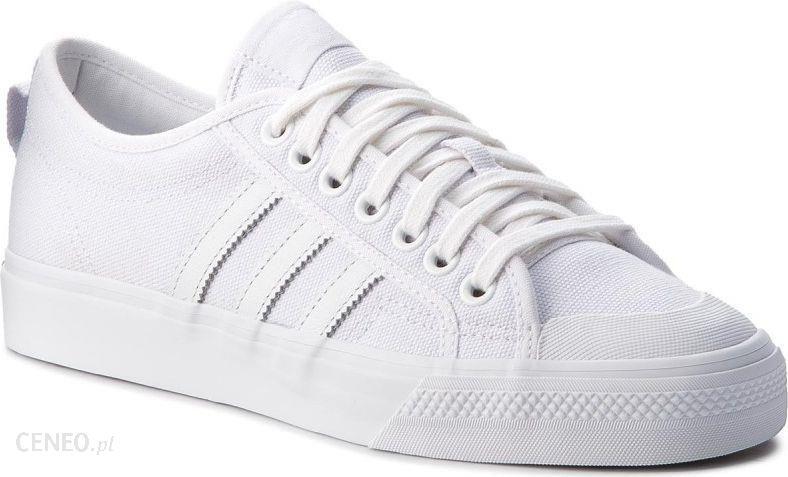 Adidas Buty męskie Originals Nizza białe r. 44 (BZ0496) Ceny i opinie Ceneo.pl