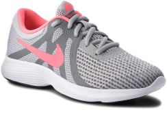 cac0aa1c3e72a Buty NIKE - Revolution 4 (GS) 943306 003 Wolf Grey Racer Pink  eobuwie