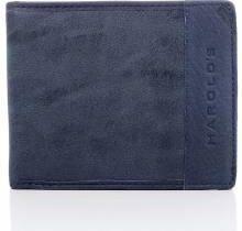 2a3d51eeda78b Granatowy unikalny portfel męski w stylu młodzieżowym