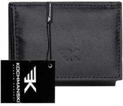 b2e09bfc5474c Skórzany portfel męski Kochmanski RFID stop 1195