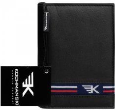 59cb7aeb3b2f6 Młodzieżowy portfel skórzany Kochmanski RFID stop 1211