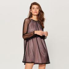 c737dd9cbb Mohito - Tiulowa sukienka mini - Czarny