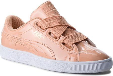 Sneakersy PUMA Basket Heart Lunar Lux Jr 365993 02 Cream Tan