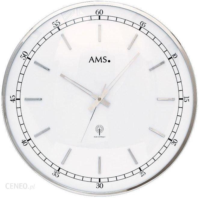 Ams Zegar ścienny Sterowany Sygnałem Radiowym 40cm 5608 Opinie I Atrakcyjne Ceny Na Ceneopl