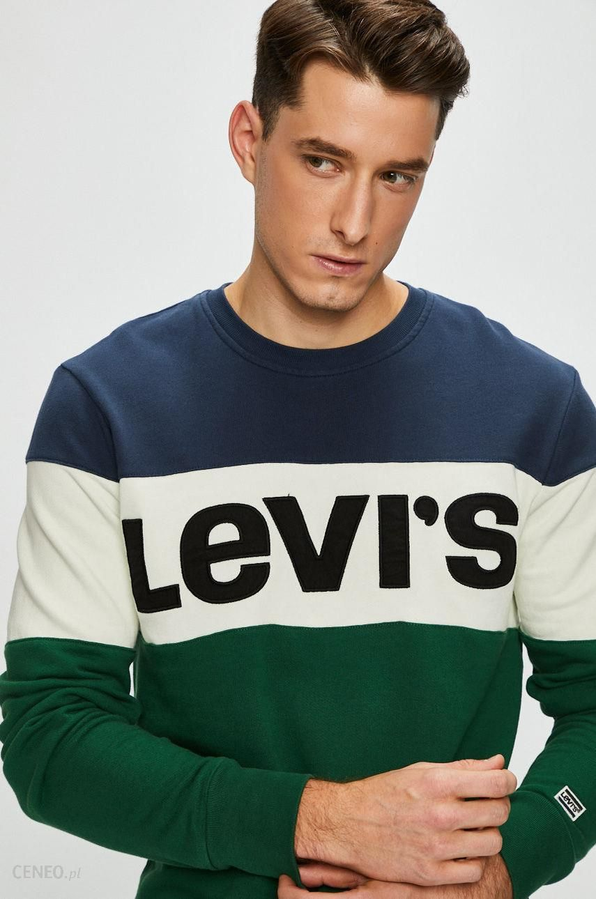 levis bluza z zileonymi rękawami