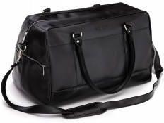 132e9f06f8c10 Sportowa czarna torba weekendowa podróżna walizka solier S18 govan