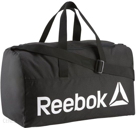 b7bedfc8d4b8c Reebok Torba Sportowa Active Core Medium Grip DN1521 - Czarny - zdjęcie 1