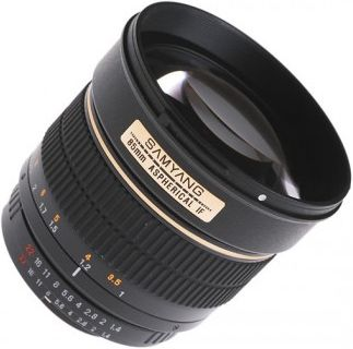 Samyang 85mm f/1.4 Aspherical IF (4/3)