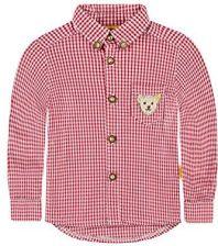 d74f66e2a5591 Amazon Koszula Steiff Collection Hemd 1/1 Arm dla chłopców, kolor: czerwony,