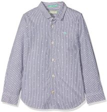 b647a72888796 Amazon Scotch & Soda shrunk chłopcy koszula Basic Yarn-dyed Shirt - krój  dopasowany