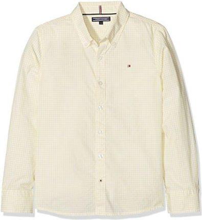 7a5f8709004432 Amazon Tommy Hilfiger chłopcy koszula Mini gingham koszulka L/S - krój  regularny 104