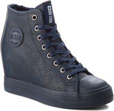 1170af2f6bcb Sneakersy BIG STAR - BB274301 Granat eobuwie