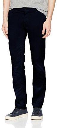 d4175ca5dac23 Amazon Boss spodnie męskie Casual schino-Slim D, kolor: niebieski (dark blue