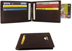 1fd6ce755ced8 Amazon freehavefun męski skórzany portfel RFID