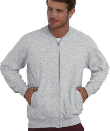256c2ee732e2d4 Cropp - Gładka bluza z kapturem - Jasny szary - Ceny i opinie - Ceneo.pl