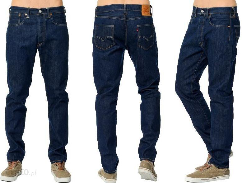 0fcdedd9dfb0 Levis 501 Ct tapered Jeansy Spodnie Granat W30 L32 - Ceny i  opinie . 8148882277