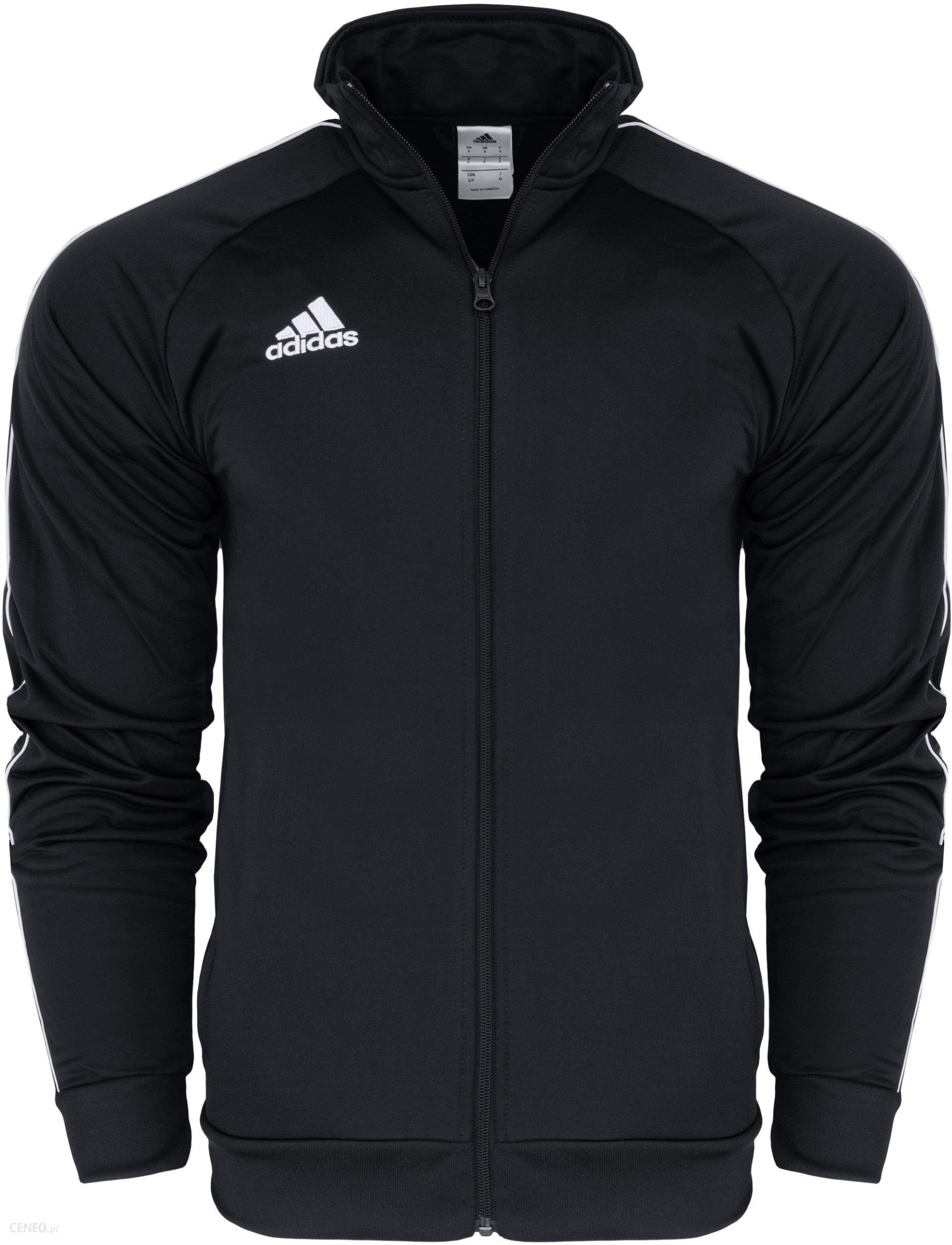 bluza męska adidas rozpinana z kapturem czarne