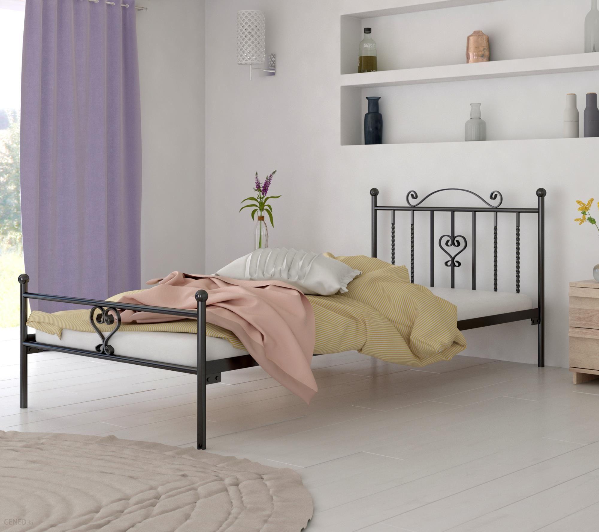 Lak System łóżko Metalowe 120x200 Wzór 4 J Stelaż