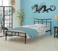 Lak System łóżko Metalowe 120x200 Wzór 6j Stelaż