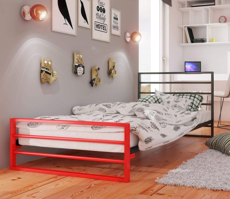 Lak System łóżko Młodzieżowe 160x200 Wzór 7j Duocolor Stelaż