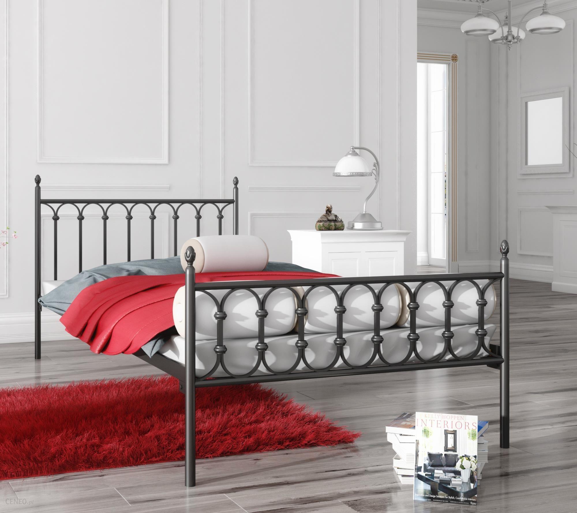 Lak System łóżko Metalowe 140x200 Wzór 8 Stelaż