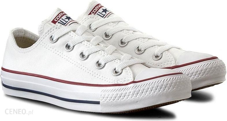 Converse Chuck Taylor All Star OX Sneakers Biały 37 Ceny i