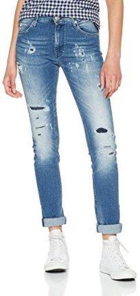 2812db7e77056 Amazon Replay dżinsy damskie Skinny jacksy - Skinny niebieski (Blue Denim 9)