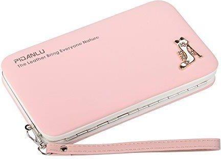 3b8b446a4c43c NUCELLE Słoneczny pudrowy długi portfel różowy - Ceny i opinie ...