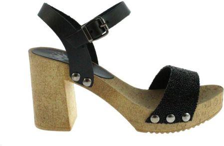 3eb875f8f69bb Walkmaxx Sandały damskie 3.0 Pure, 41złoty 79,99zł. Skórzany sandał damski  na obcasie Porronet, Kolor czarny