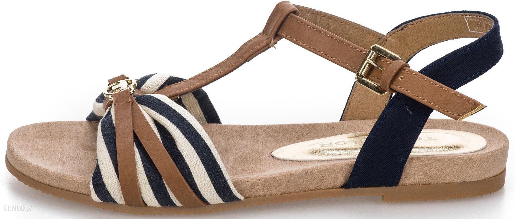 9a7b2a53714c0 Tom Tailor sandały damskie 39 ciemny niebieski - Ceny i opinie ...