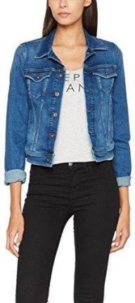 748d221876b4f Amazon Pepe Jeans London torebka damska kurtka dżinsy Core Jacket, kolor:  niebieski (denim