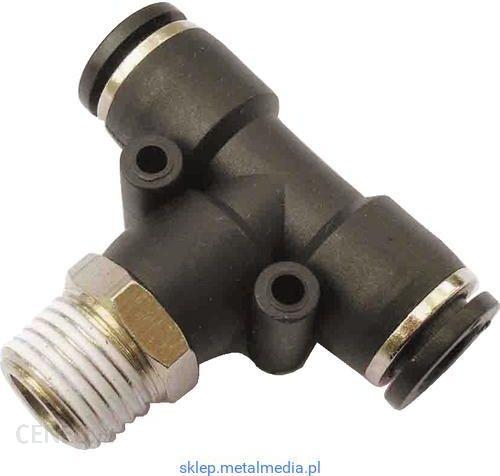 d49fb10f4772e7 Akcesoria do narzędzi pneumatycznych Kennedy Złączka Typu T Z Gwintem  Stożkowym 10Mm - G1/4 Ktb10