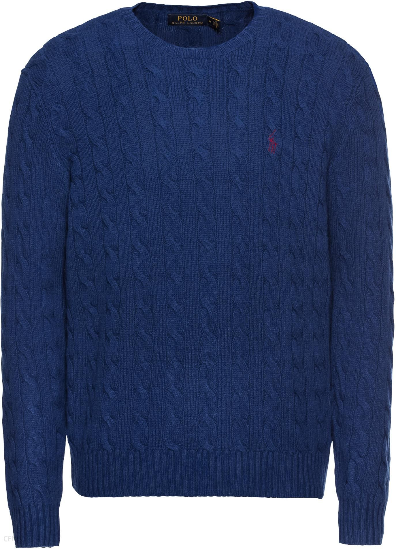082494ce41e9 POLO RALPH LAUREN Sweter  LS CABLE CN-LONG SLEEVE-SWEATER  - Ceny i ...